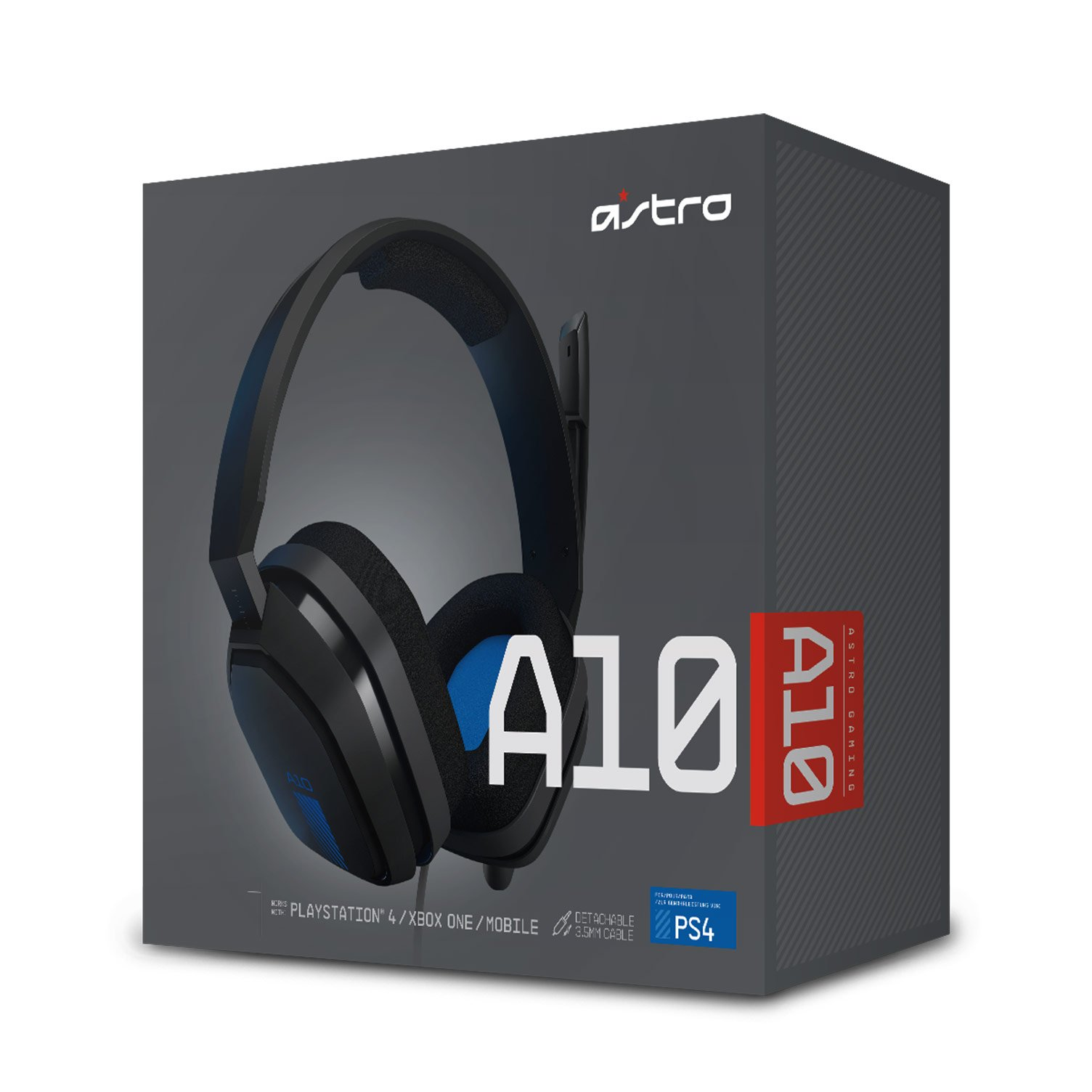 auriculares astro a10 packaging